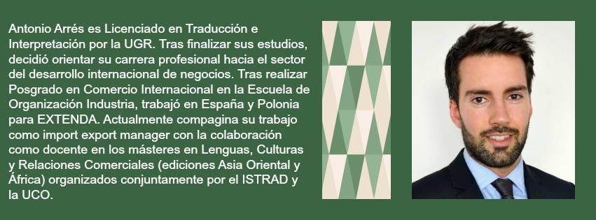Bio de Antonio Arrés