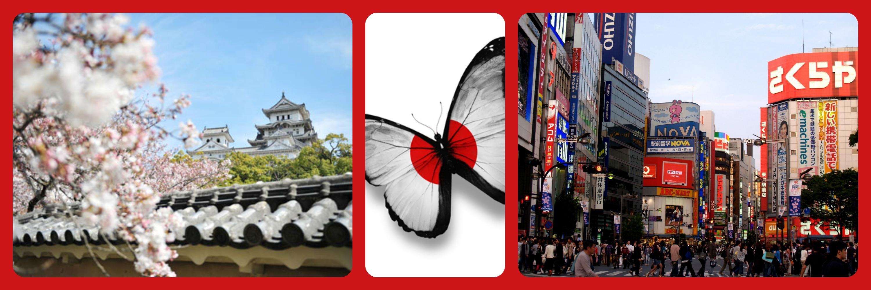 Collage Japón earres
